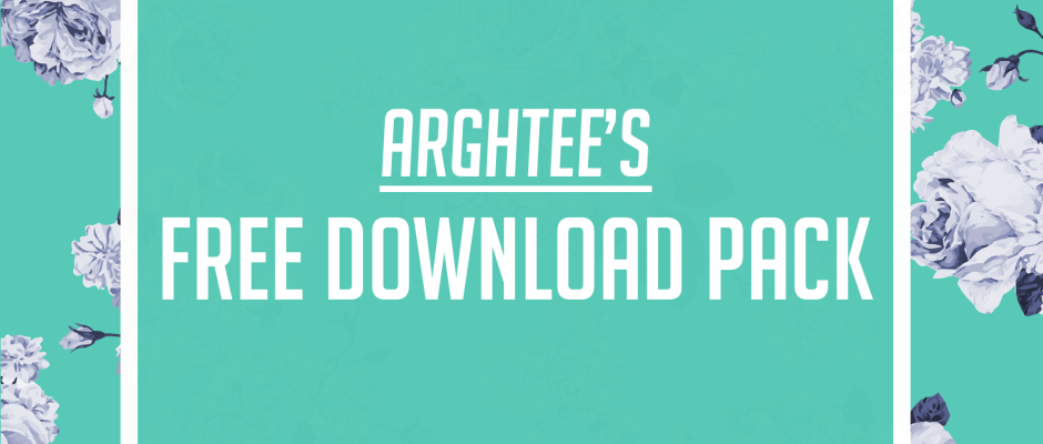 Arghtee's Free Download Pack August Artwork